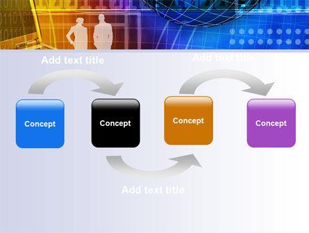 Big City Lights PowerPoint Template, Slide 4, 07511, Business — PoweredTemplate.com