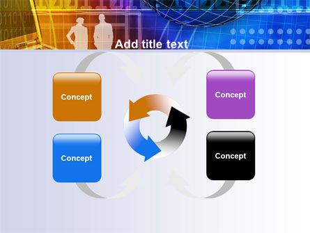 Big City Lights PowerPoint Template Slide 6