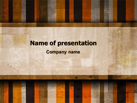 Abstract Bars PowerPoint Template