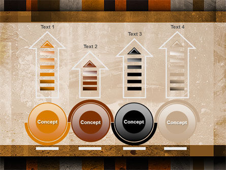 Abstract Bars PowerPoint Template Slide 7