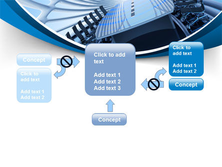 Conference Auditorium PowerPoint Template Slide 13