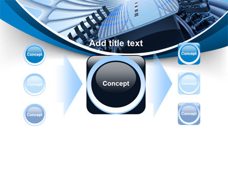 Conference Auditorium PowerPoint Template Slide 17