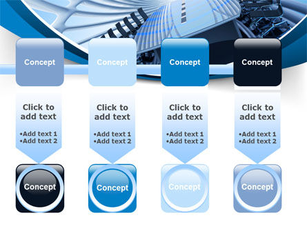 Conference Auditorium PowerPoint Template Slide 18