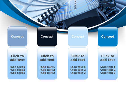 Conference Auditorium PowerPoint Template Slide 5