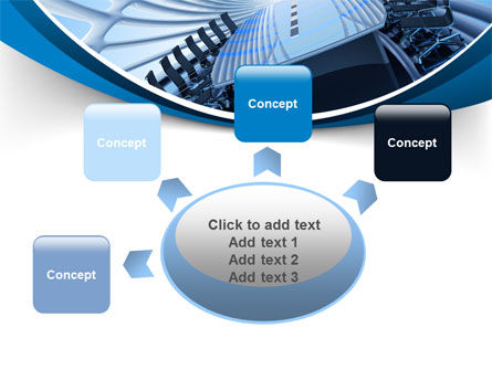 Conference Auditorium PowerPoint Template Slide 7