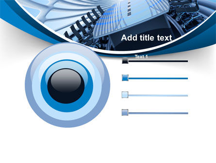 Conference Auditorium PowerPoint Template Slide 9