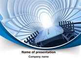 Business: 会议厅PowerPoint模板 #07515