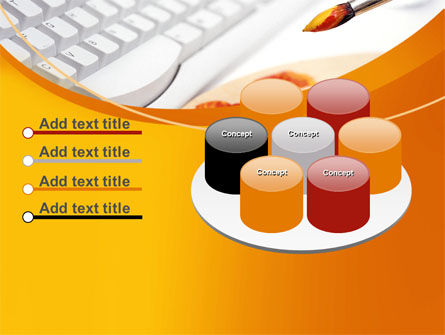Computer Palette PowerPoint Template Slide 12