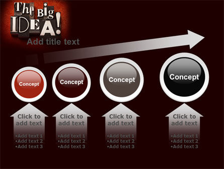 The Big Idea PowerPoint Template Slide 13