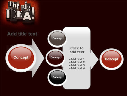 The Big Idea PowerPoint Template Slide 17