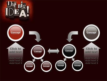 The Big Idea PowerPoint Template Slide 19