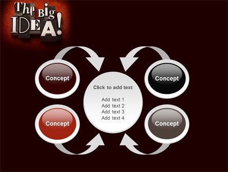 The Big Idea PowerPoint Template Slide 6