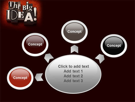 The Big Idea PowerPoint Template Slide 7