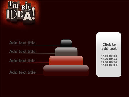 The Big Idea PowerPoint Template Slide 8