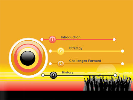 Sun Worship PowerPoint Template, Slide 3, 07524, People — PoweredTemplate.com