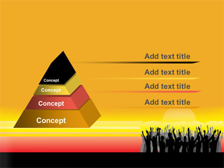 Sun Worship PowerPoint Template, Slide 4, 07524, People — PoweredTemplate.com