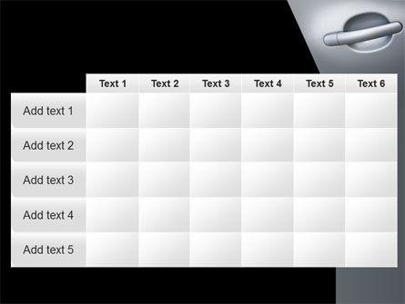 Car Door PowerPoint Template Slide 15