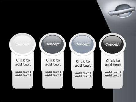 Car Door PowerPoint Template Slide 5
