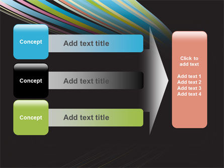 Abstract Colorful Stripes PowerPoint Template Slide 12