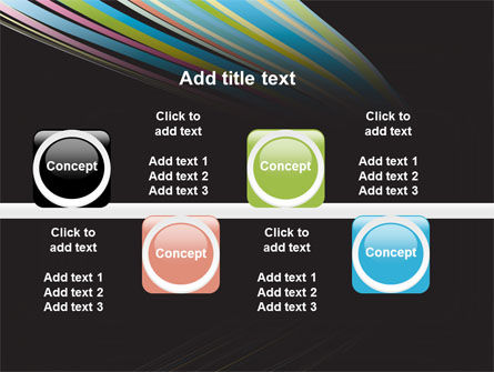 Abstract Colorful Stripes PowerPoint Template Slide 19