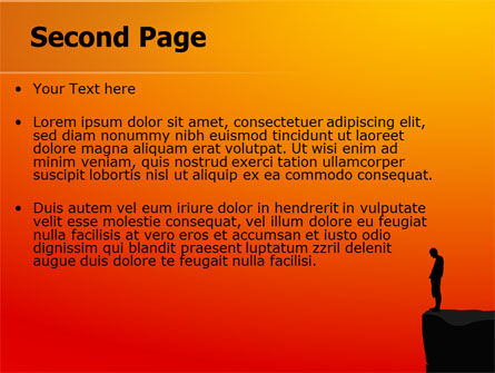 Chasm PowerPoint Template, Slide 2, 07533, Consulting — PoweredTemplate.com