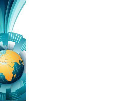 Abstract Globe PowerPoint Template, Slide 3, 07534, Global — PoweredTemplate.com