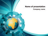 Abstract Globe PowerPoint Template#1