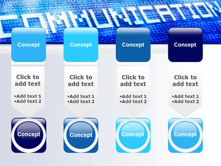 Communication Stream PowerPoint Template Slide 18