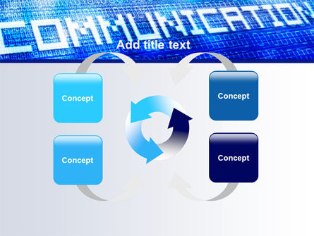 Communication Stream PowerPoint Template Slide 6