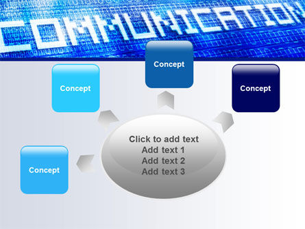 Communication Stream PowerPoint Template Slide 7