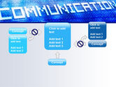 Communication Stream PowerPoint Template#13