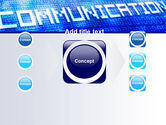 Communication Stream PowerPoint Template#17