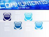 Communication Stream PowerPoint Template#19