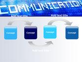 Communication Stream PowerPoint Template#4