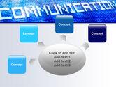 Communication Stream PowerPoint Template#7