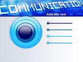 Communication Stream PowerPoint Template#9