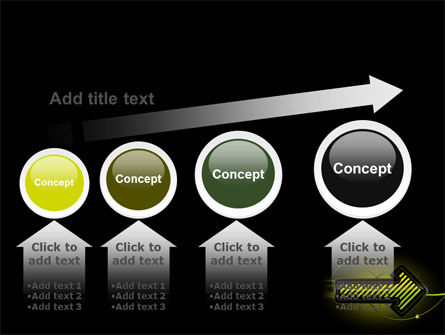 Yellow Pointer PowerPoint Template Slide 13