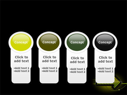 Yellow Pointer PowerPoint Template Slide 5