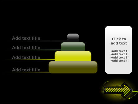 Yellow Pointer PowerPoint Template Slide 8