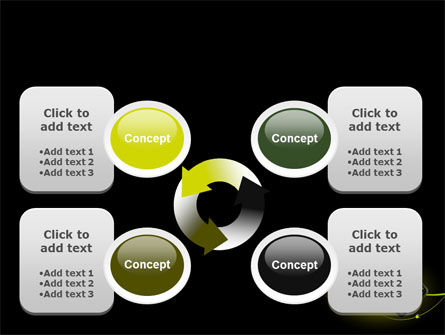 Yellow Pointer PowerPoint Template Slide 9