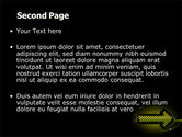 Yellow Pointer PowerPoint Template#2