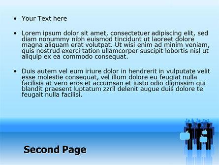 Public Opinion PowerPoint Template, Slide 2, 07539, Telecommunication — PoweredTemplate.com