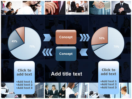Office Life Collage PowerPoint Template Slide 11