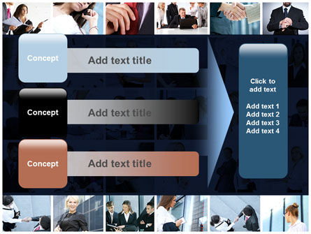 Office Life Collage PowerPoint Template Slide 12