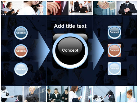 Office Life Collage PowerPoint Template Slide 17