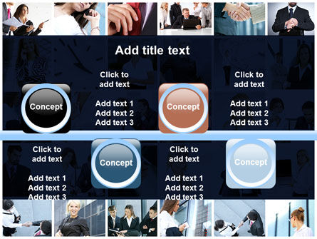 Office Life Collage PowerPoint Template Slide 19