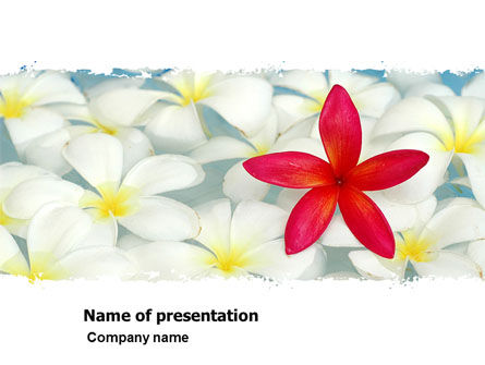 Business Concepts: Spring Flowers PowerPoint Template #07544