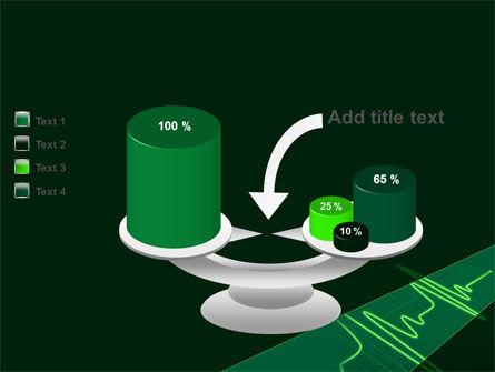 Splashes On Oscillogram PowerPoint Template Slide 10