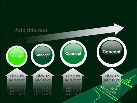Splashes On Oscillogram PowerPoint Template Slide 13