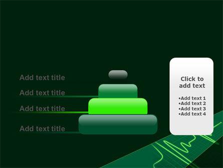 Splashes On Oscillogram PowerPoint Template Slide 8